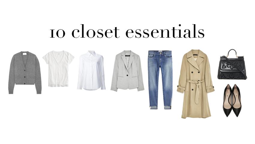 10 básicos del closet