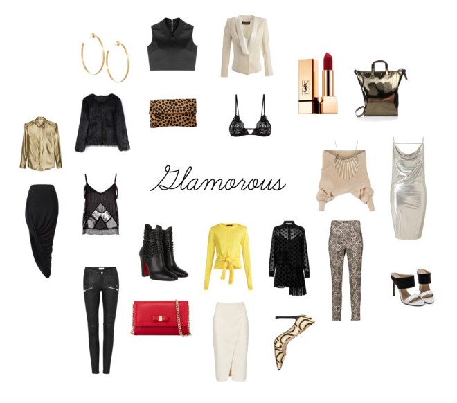 glam style